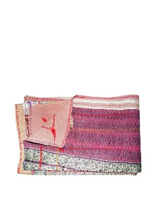 61% OFF Kantha Collection Vintage Kantha Throw, Multi