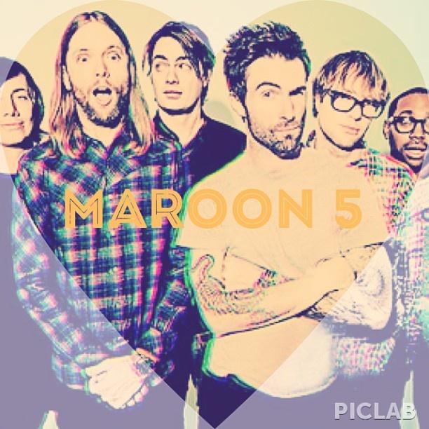 maroon 5- matt Flynn, james valentine, sam farrar, adam Levine, mickey madden, pj morton