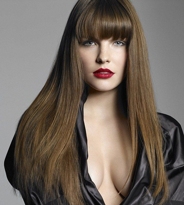 hair style bangs 78 best hairstyles fringed side swept and fringe 4478