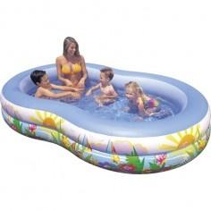 http://idealbebe.ro/intex-piscina-ovala-paradise-lagoon-p-15086.html Piscina ovala foarte confortabila cu desene vesele de pe malul marii. Usor de schimbat apa in piscina datorita supapei de scurgere. Fabricata din PVC rezistent si are 2 camere cu supape duble.