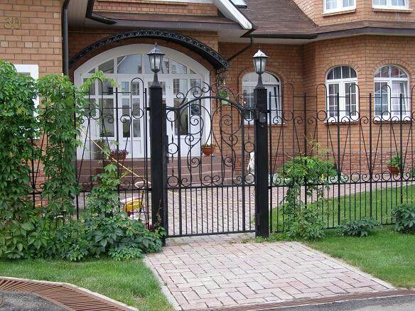 Художественная ковка, ворота загородного дома от ООО Ковка Модерн