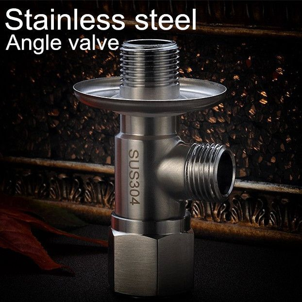SUS 304 Stainless Steel Kitchen Bathroom Accessories Angle Valve for Toilet / Sink / Basin / Water Heater Angle Valves - ICON2 Luxury Designer Fixures  SUS #304 #Stainless #Steel #Kitchen #Bathroom #Accessories #Angle #Valve #for #Toilet #/ #Sink #/ #Basin #/ #Water #Heater #Angle #Valves