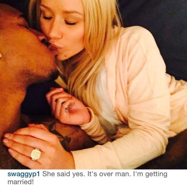 Iggy Azalea Engaged To Nick Young, See The Huge Ring and Proposal! (Video)  #IggyAzalea #NickYoung #Engagement #Wedding #Celebrity