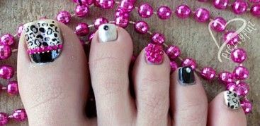 Ooooh!!! Paint Your Toes Pretty - Summer Pedicure Designs - Blissfully DomesticBlissfully Domestic | Page 2