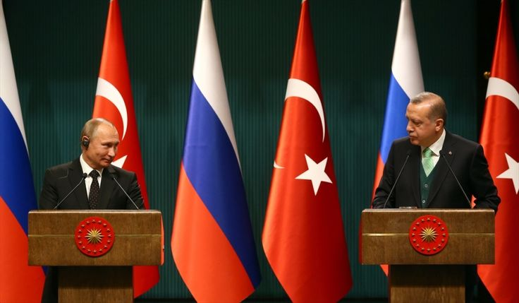الرئيس أردوغان يستقبل نظيره الروسي في أنقرة بمراسم رسمية