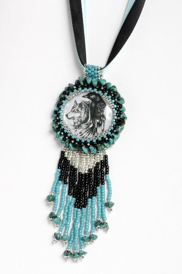 Spirit of Turquoise - Jewelry creation by Dianne
