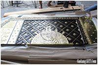Proses pembuatan pintu replika masjid Nabawi 081266321414