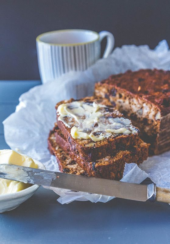 Spiced fruit tea cake recipe