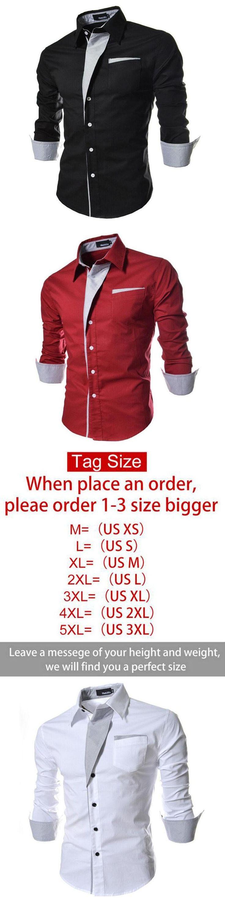 striped shirt men long sleeve 2016 brand new casual shirt chemise for men slim fit tuxedo shirt camisa masculina size 3xl