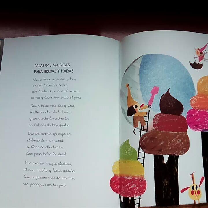 """18 Me gusta, 20 comentarios - Hada Mapy, cuentacuentos (@hada_mapy) en Instagram: """"""""Palabras mágicas para brujas y hadas"""" del libro """"Versos de cuento"""" de Carmen Gil con ilustraciones…"""""""