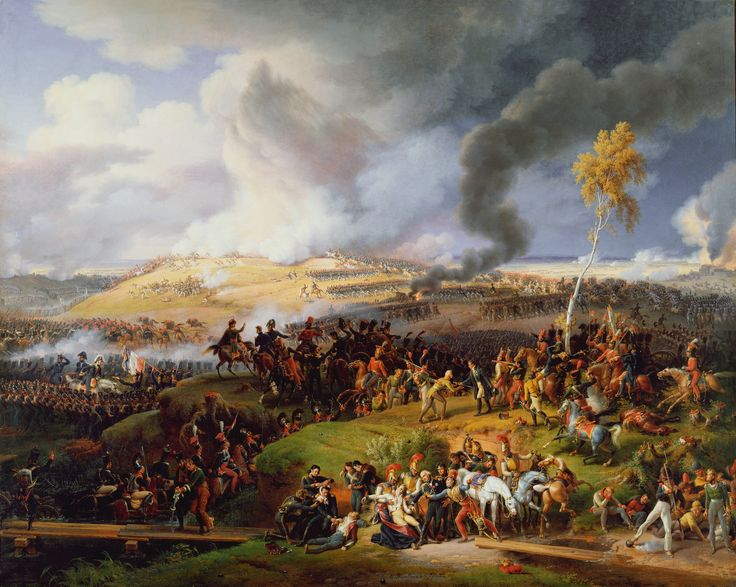 """Battle of Moscow, 7th September 1812"" by Louis-François Lejeune, More commonly known as the Battle of Borodino, despite the artist's title."