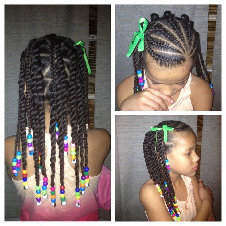 Astounding Little Girl Hairstyles Girl Hairstyles And Little Girls On Pinterest Short Hairstyles For Black Women Fulllsitofus