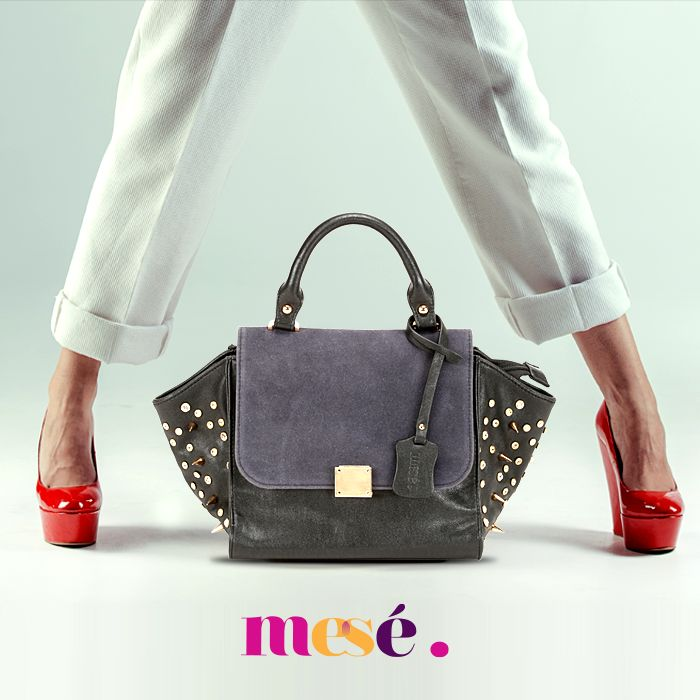 Perfect option to flaunt your style and store all your essentials. #Bags #Fashion #Style #FashionBags  Buy here - http://bit.ly/MeseBlackToteBag