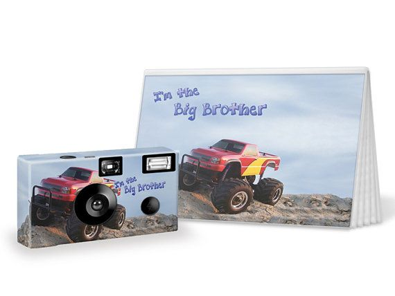 Monster Truck I'm The Big Brother Camera