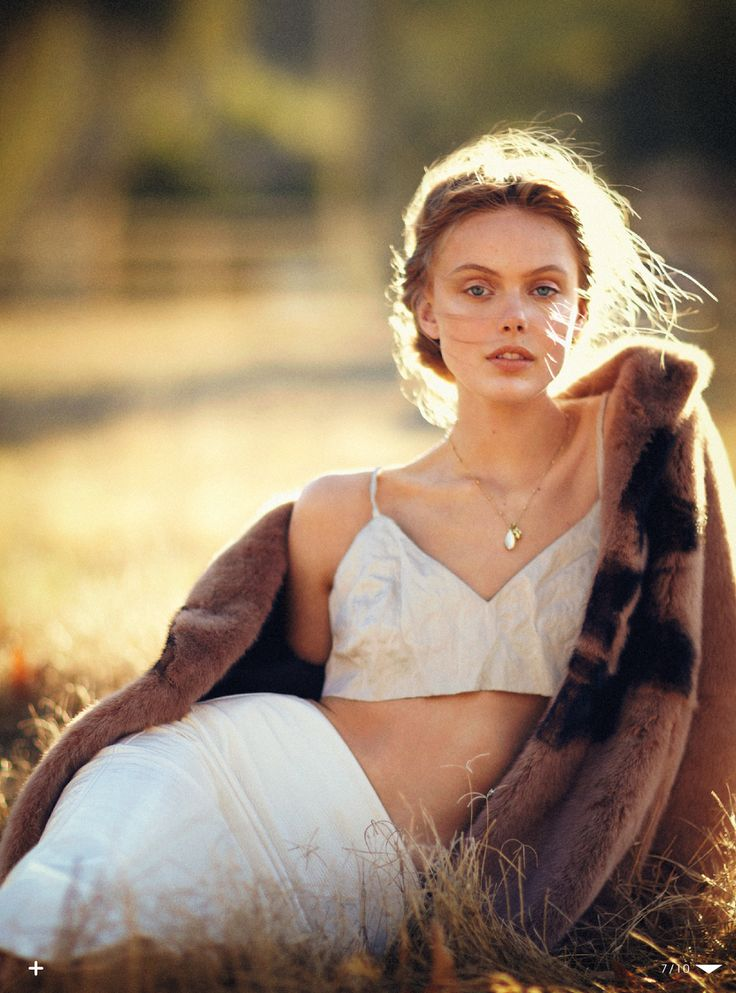 visual optimism; fashion editorials, shows, campaigns & more!: a soft dynamic: frida gustavsson by boo george for vogue japan june 2013