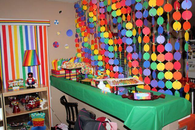 Rainbow Party #rainbow #partyinvites