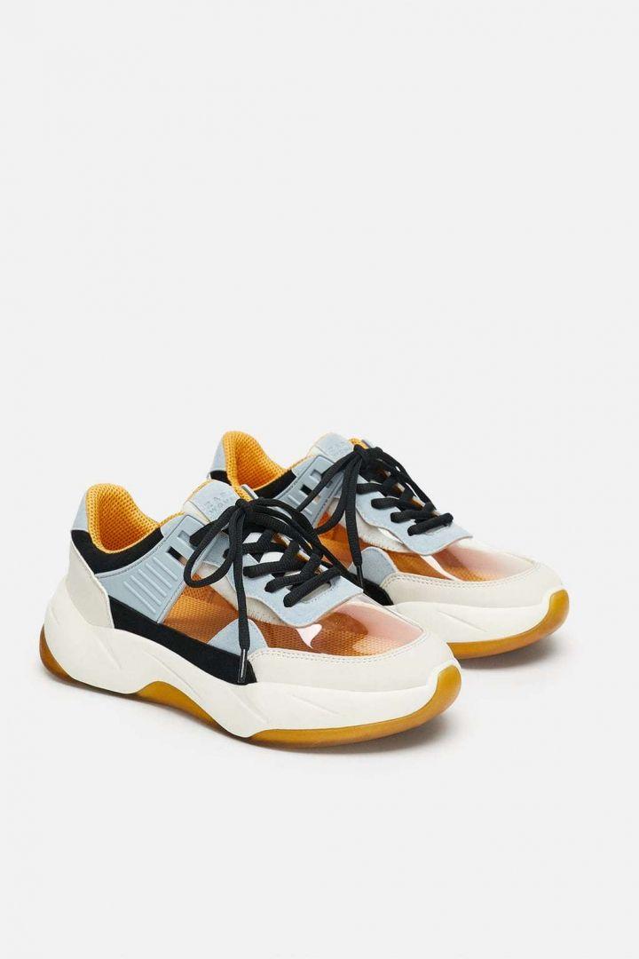half off 8f043 1f5a0 Sapatilhas dad shoes  ugly shoes Zara - My Super Sweet Twenty