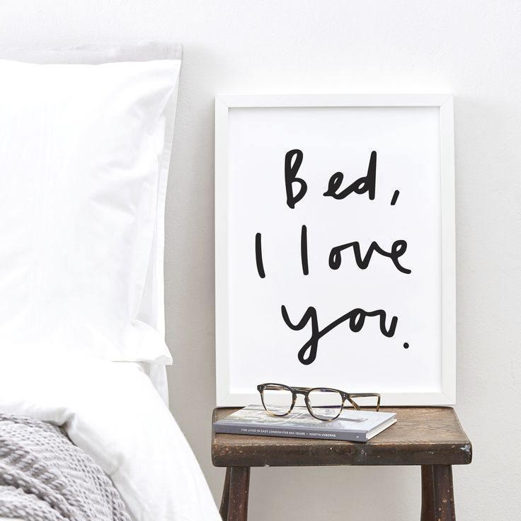 Bed, everyone loves you!