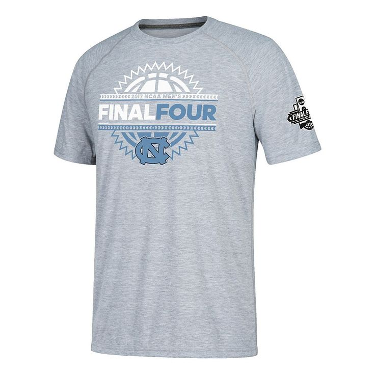 Men's North Carolina Tar Heels 2017 Men's Basketball Final Four Four Corners Tee, Size: Large, Blue