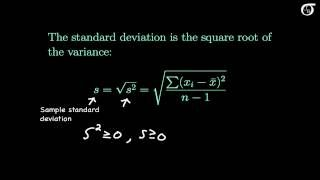 Measures of Variability (Variance, Standard Deviation, Range, Mean Absolute Deviation) - YouTube