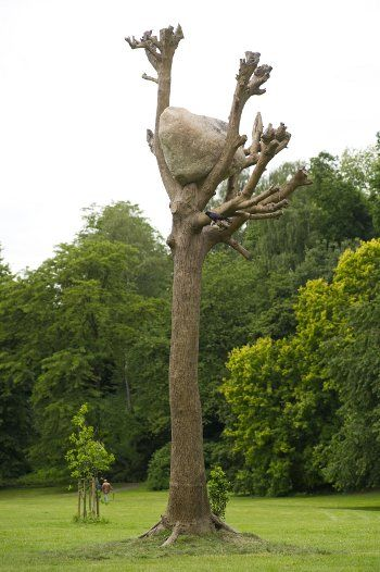 Best Giuseppe Penone Sculpture Images On Pinterest - This beautiful bronze sculpture has been attached to a tree since 1968