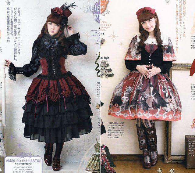 Pin en Gothic Lolita inspo