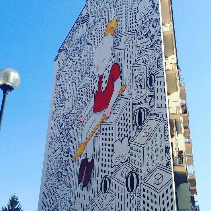 """""""Un buongiorno colorato e artistico oggi!!!"""" Torino raccontata da cristina_ska per #inTO"""