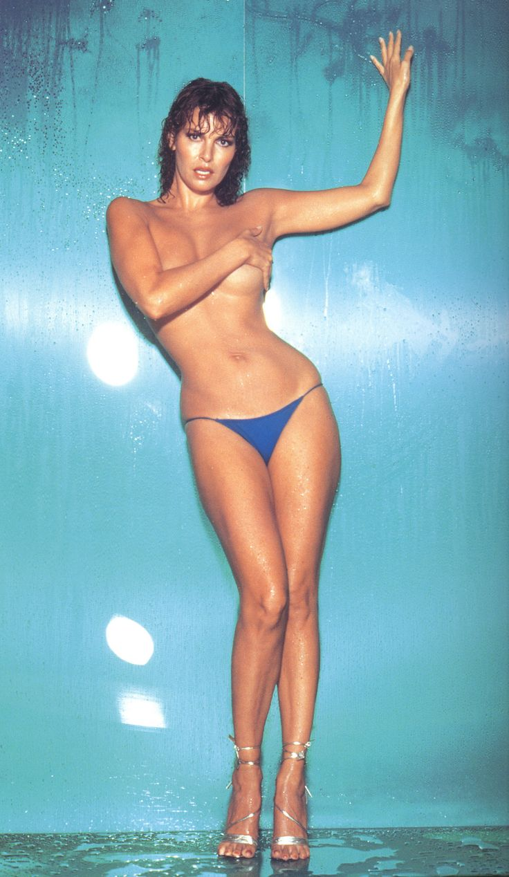 Retro Raquel Welch with her hourglass figure. She still looks good even now.
