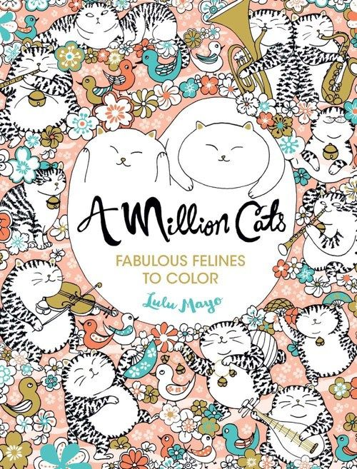 best coloring books for cat lovers - Best Coloring Books For Adults