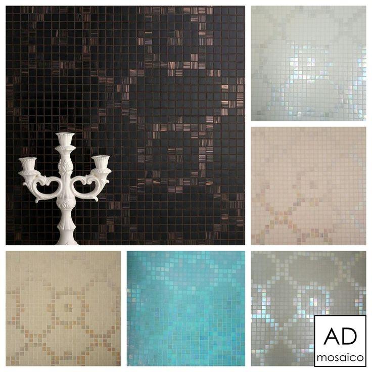 Decoro SOFT FLOWER  mosaico  20x20  mm  info@admosaico.com