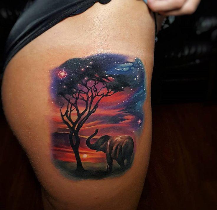 Best 25 Elephant Thigh Tattoo Ideas On Pinterest: Best 25+ Colorful Elephant Tattoo Ideas On Pinterest