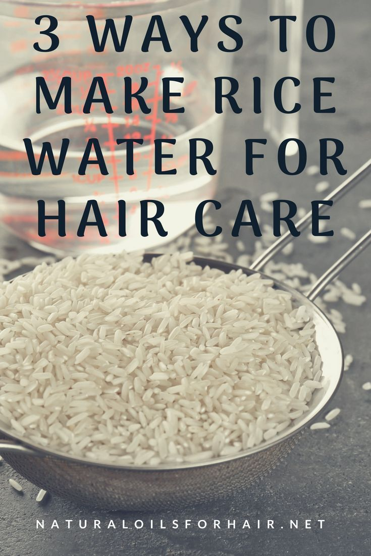 Use Rice Water For Fast Hair Growth Naturally Rice Hair Haircare Hairgrowth Healthyhair Hair Growth Faster Hair Growth Diy Hair Growth Treatment