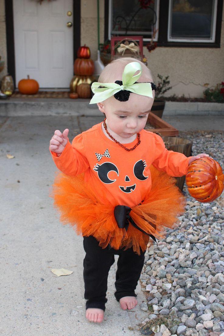Preppy pumpkin tutu cute