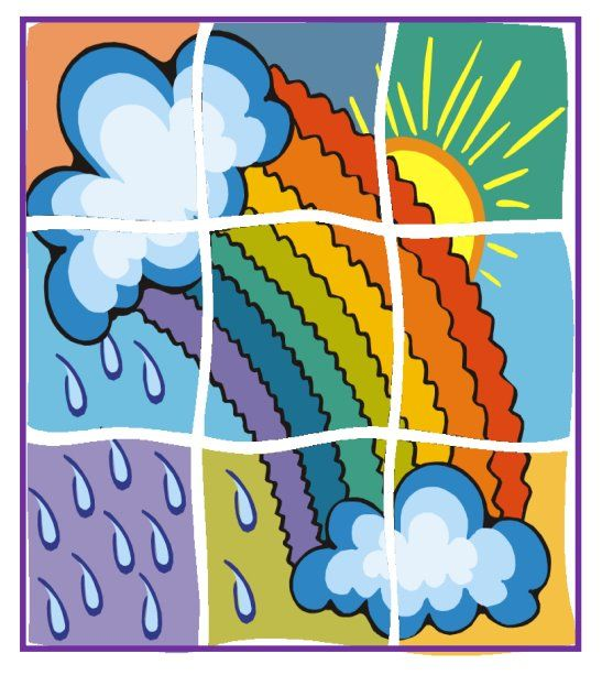 * Puzzel: Regenboog!