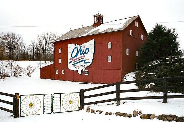 Ohio Bicentennial Barn, Delaware County