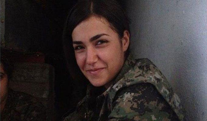 Attentat-suicide d'une combattante kurde contre Daech