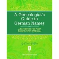 A Genealogist's Guide to German Names | ShopFamilyTree