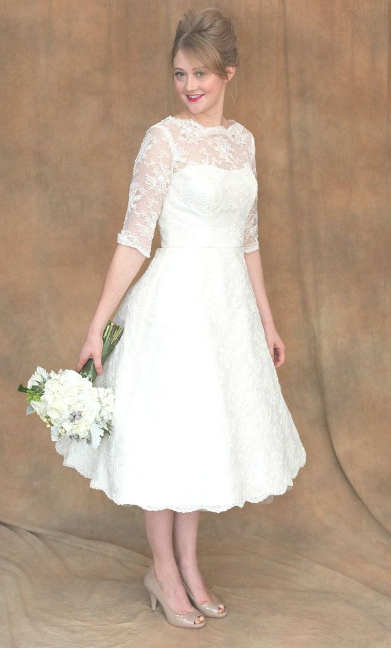 Vintage Inspired Wedding Dress Libby By DameCouture