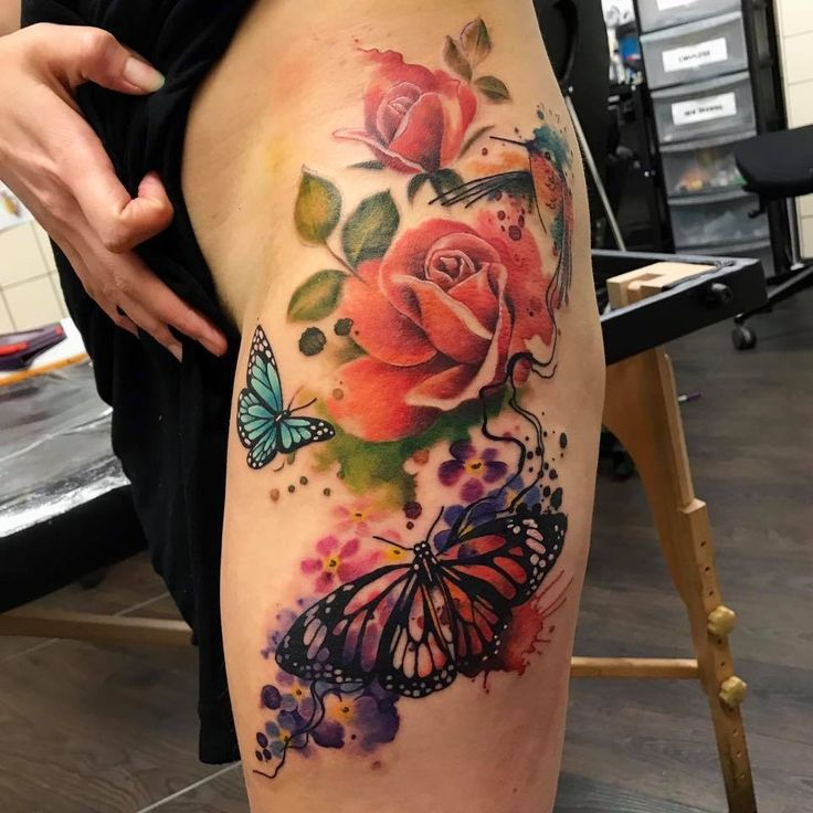 44 Awesome Hip Rose Tattoos: 17 Best Ideas About Rose Hip Tattoos On Pinterest