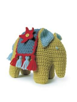 Henri Elephant ... Very nice pattern! Free by Rowan