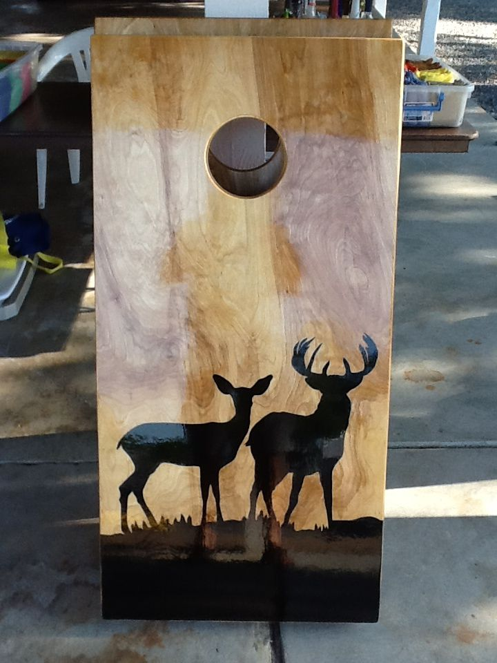One Of The Deer Boards I Sell Hunting Decor Gun And