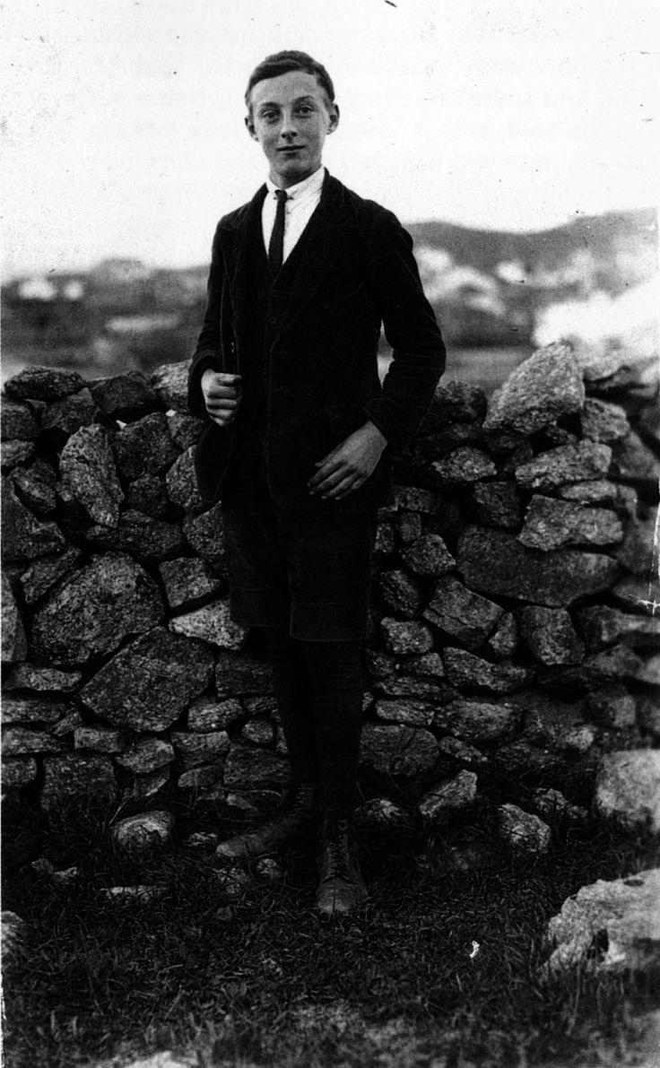 Ramón Caamaño, 1924. Fotografía de Ruth M. Anderson