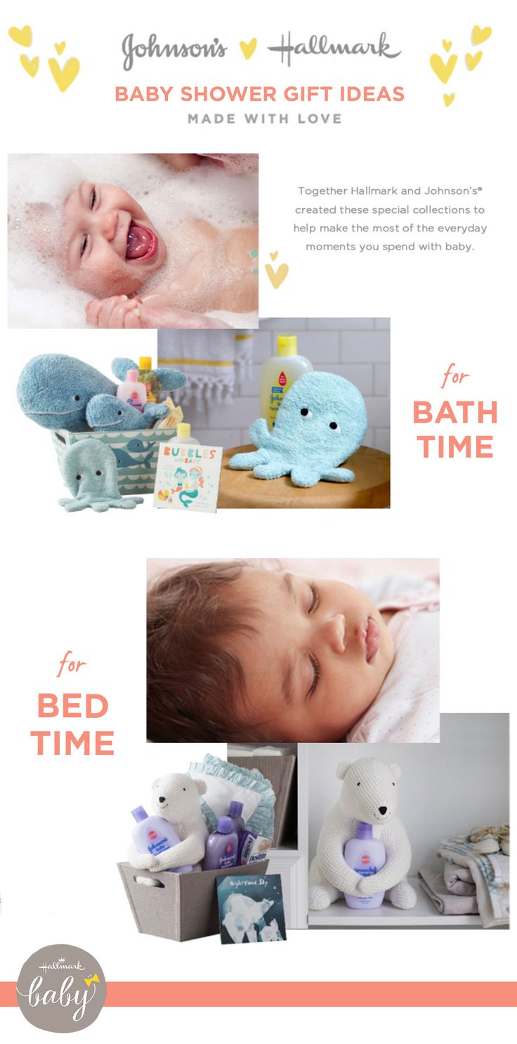 Together, Johnsonu0027s And Hallmark Have Teamed Up To Create A Collection Of Baby  Shower Gifts