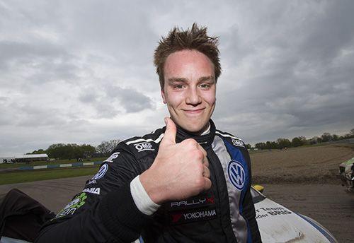 Veiby tycker det va ok start på RallyX premiären för Volkswagen Dealer Team KMS på Ring Knutstorp.