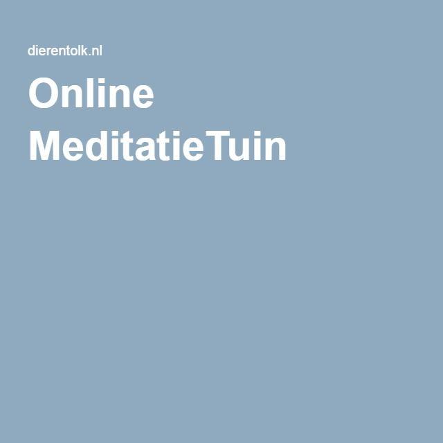 Online MeditatieTuin