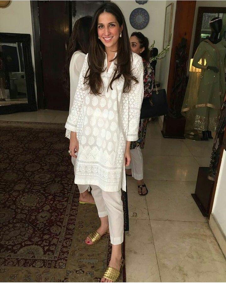 Pakistani Eid outfit by Maheen Ghani Taseer.