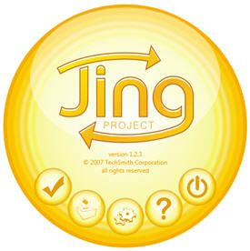 Jing is a great tool to use because it will take a snapshot of your screen and you can adapt and change it.