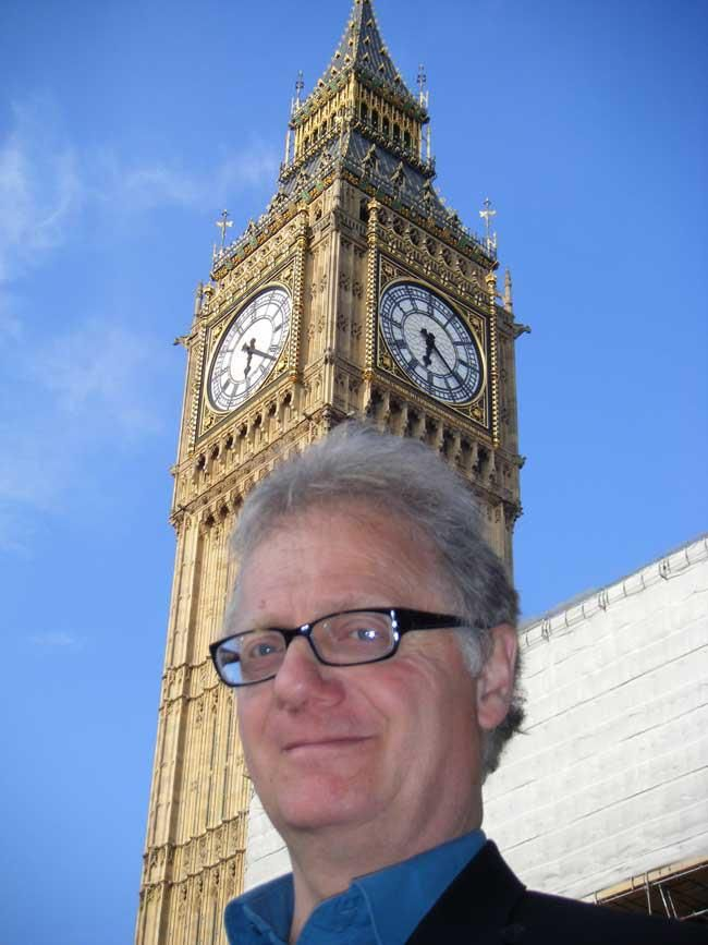 ONE OF THE delights of being a caricaturist in London is being able to be a tourist in your own capital city.