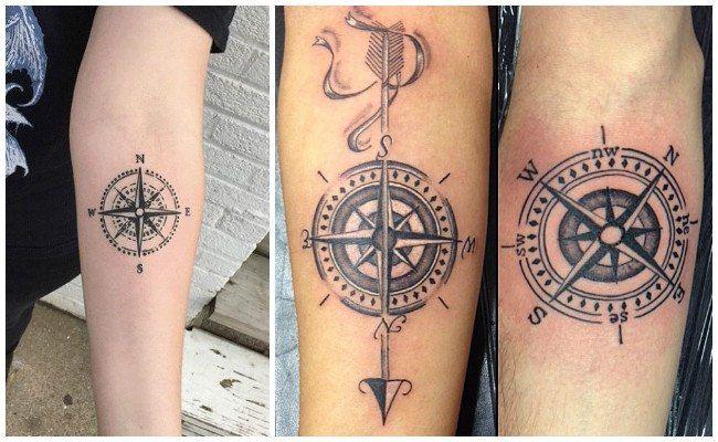 Tatuajes De Brujulas En Al Antebrazo Tatuajes Brujula Tatuaje Brujula Tatuajes