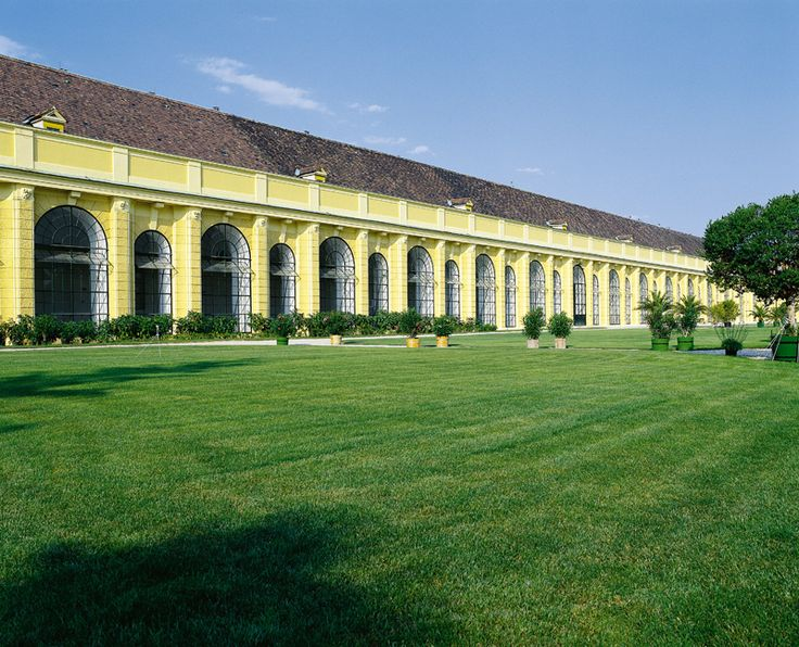 The Orangery - http://www.schoenbrunn.at/en/things-to-know/gardens/tour-through-the-park/orangery.html